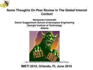 Some Thoughts On Peer Review In The Global Internet Context