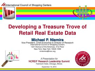 Developing a Treasure Trove of Retail Real Estate Data