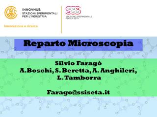 Reparto Microscopia