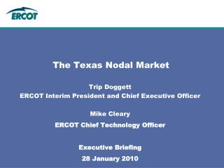 The Texas Nodal Market