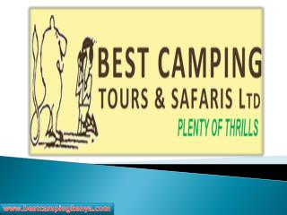 Luxury Tented Safaris in Kenya