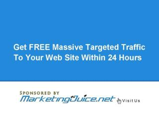 Increase Web Site Traffic - Learn How To Increase Free Web S