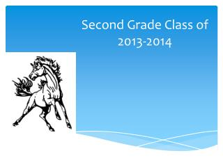 Second Grade Class of 2013-2014