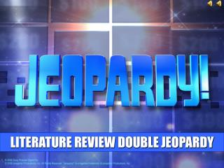 LITERATURE REVIEW DOUBLE JEOPARDY