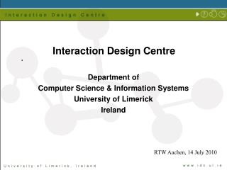 Interaction Design Centre