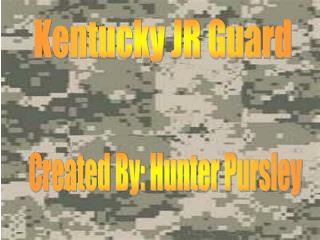 Kentucky JR Guard