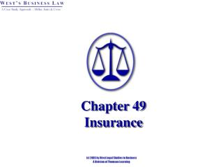 Chapter 49 Insurance