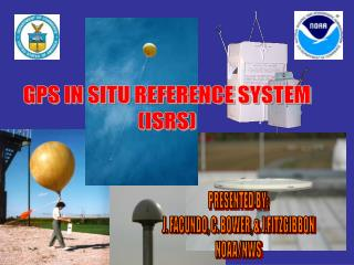 GPS IN SITU REFERENCE SYSTEM (ISRS)