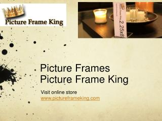 Wholesale Picture Frame Company, Picture Frame King
