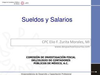 CPC Elio F. Zurita Morales, MI despachoeliozurita
