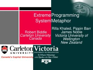 Robert Biddle Carleton University Canada