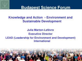 Budapest Science Forum