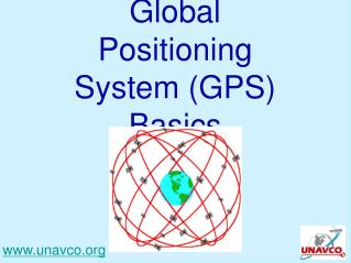 Global Positioning System (GPS) Basics