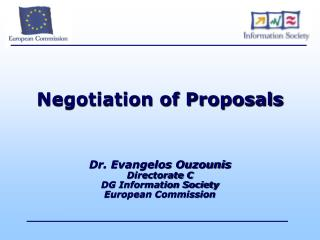 Negotiation of Proposals