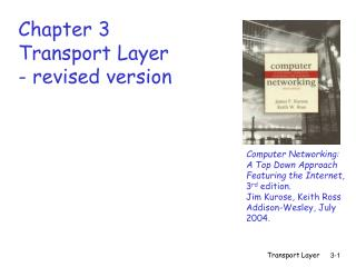Chapter 3 Transport Layer - revised version