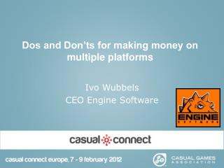 Dos and Don'ts for making money on multiple platforms