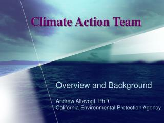 Climate Action Team
