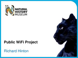 Public WiFi Project Richard Hinton