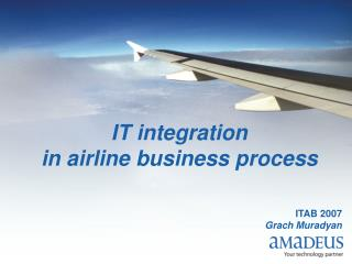 IT integration in airline business process