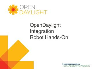 OpenDaylight Integration Robot Hands-On