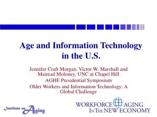 Age and Information Technology  in the U.S.