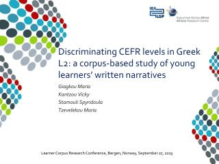 Discriminating CEFR levels in Greek L2: a corpus-based study of young learners' written narratives