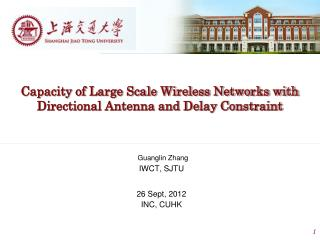 Capacity of Large Scale Wireless Networks with Directional Antenna and Delay Constraint