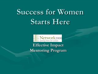 Success for Women Starts Here