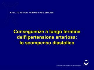 CALL TO ACTION: ACTORS CASE STUDIES