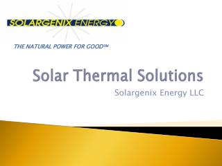 Solar Thermal Solutions