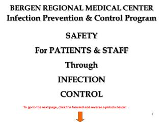 Infection Prevention & Control Program