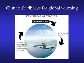 Climate feedbacks for global warming