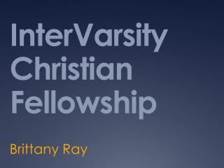 InterVarsity Christian Fellowship