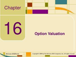 Option Valuation