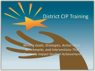 District CIP Training
