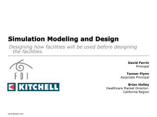 Simulation Modeling and Design