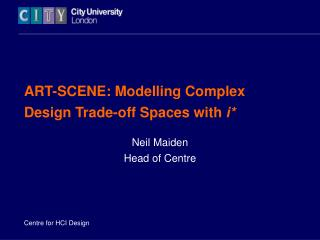 ART-SCENE: Modelling Complex Design Trade-off Spaces with  i*