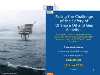 Facing the Challenge of the Safety of Offshore Oil and Gas Activities