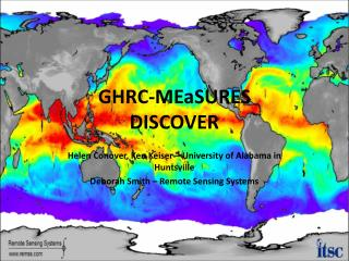GHRC-MEaSURES DISCOVER