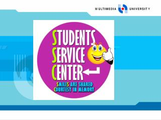 STUDENTS SERVICE CENTER SSC