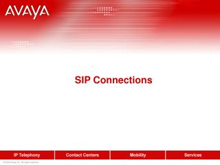 SIP Connections