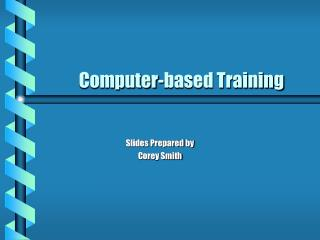 Computer-based Training