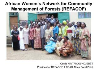 African Women's Network for Community Management of  Forests (REFACOF)