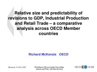 Richard McKenzie   OECD