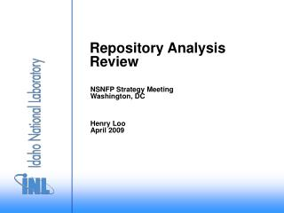 Repository Analysis Review