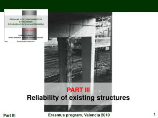 PART III Reliability of existing structures