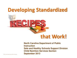 North Carolina Department of Public Instruction Safe and Healthy Schools Support Division