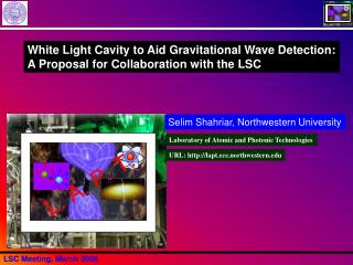 White Light Cavity to Aid Gravitational Wave Detection: A Proposal for Collaboration with the LSC