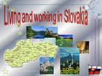 Living and working in Slovakia