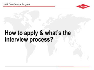 How to apply & what's the interview process?